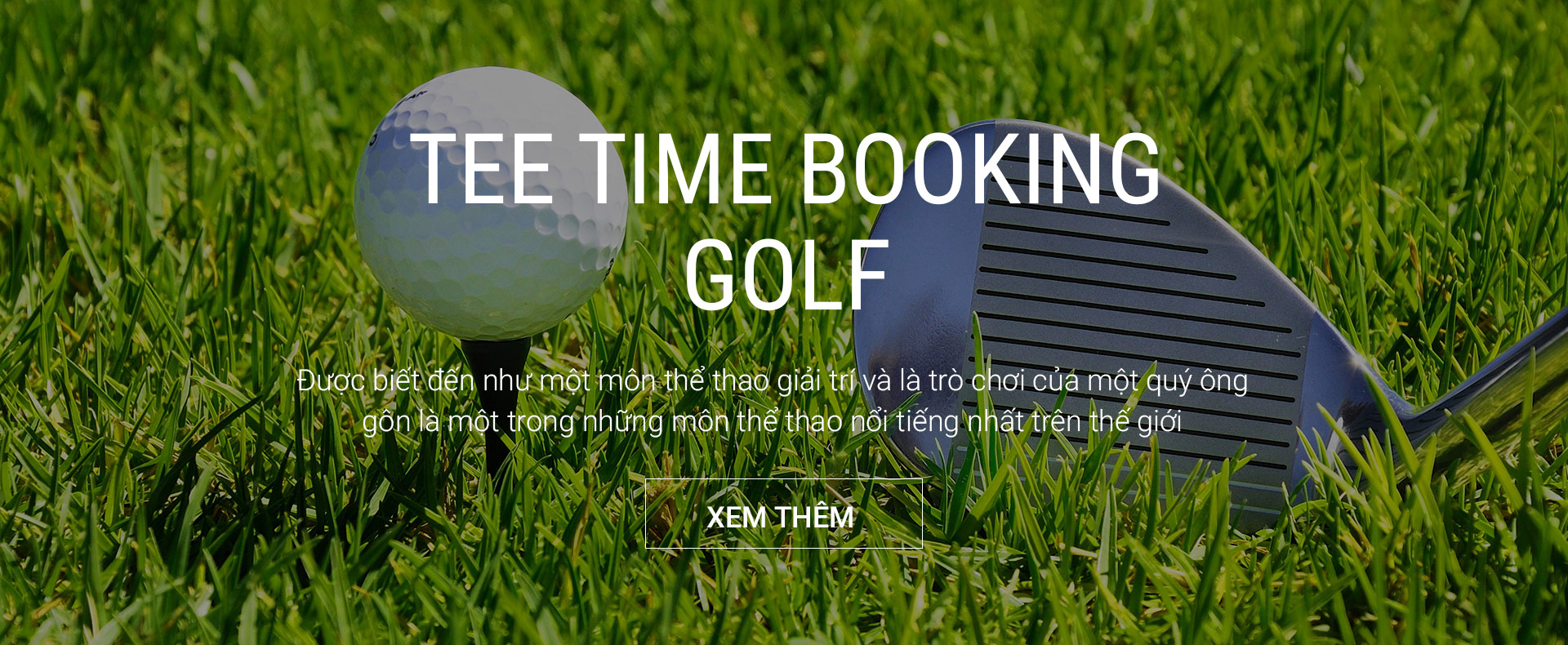 Tee Time Booking Golf