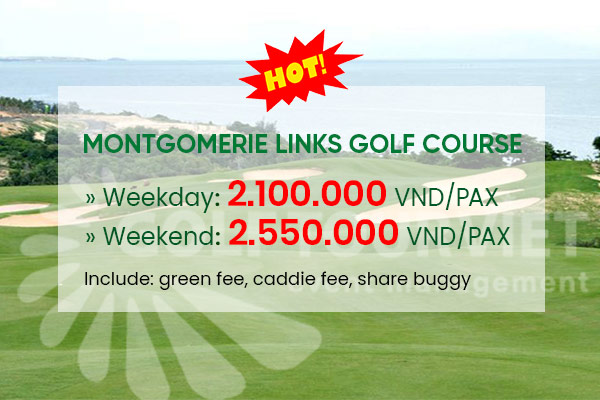 Bảng giá sân Golf: Montgomerie Links Golf Course