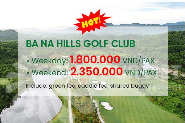 Bảng giá sân golf Bà Nà Hills