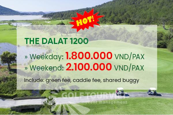 Bảng giá sân golf Đà Lạt 1200