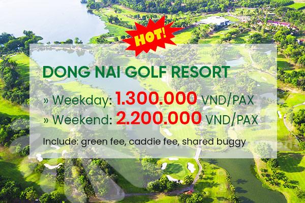 Bảng giá sân golf Đồng Nai Golf Resort