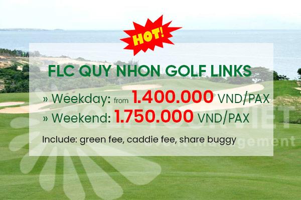 Bảng giá sân Golf: FLC QUY NHON GOLF LINKS