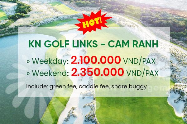 Bảng giá Sân Golf: KN Golf Link Cam Ranh