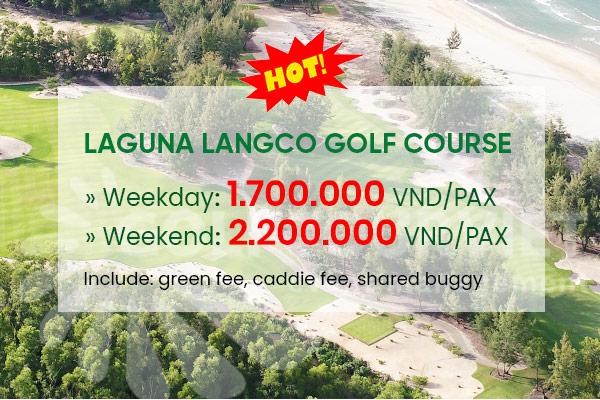 Bảng giá sân golf Laguna Lăng Cô