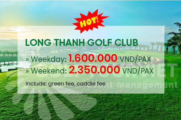 Bảng giá sân golf Long Thanh Golf Club