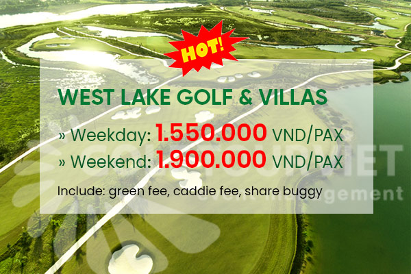 Bảng giá sân golf West Lake Golf & Villas